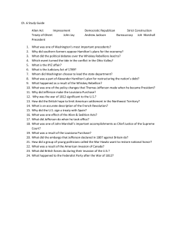 Ch. 6 Study Guide - American Studies / Civics