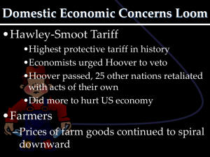 Domestic Economic Concerns Loom