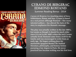 compare and contrast cyrano and christian