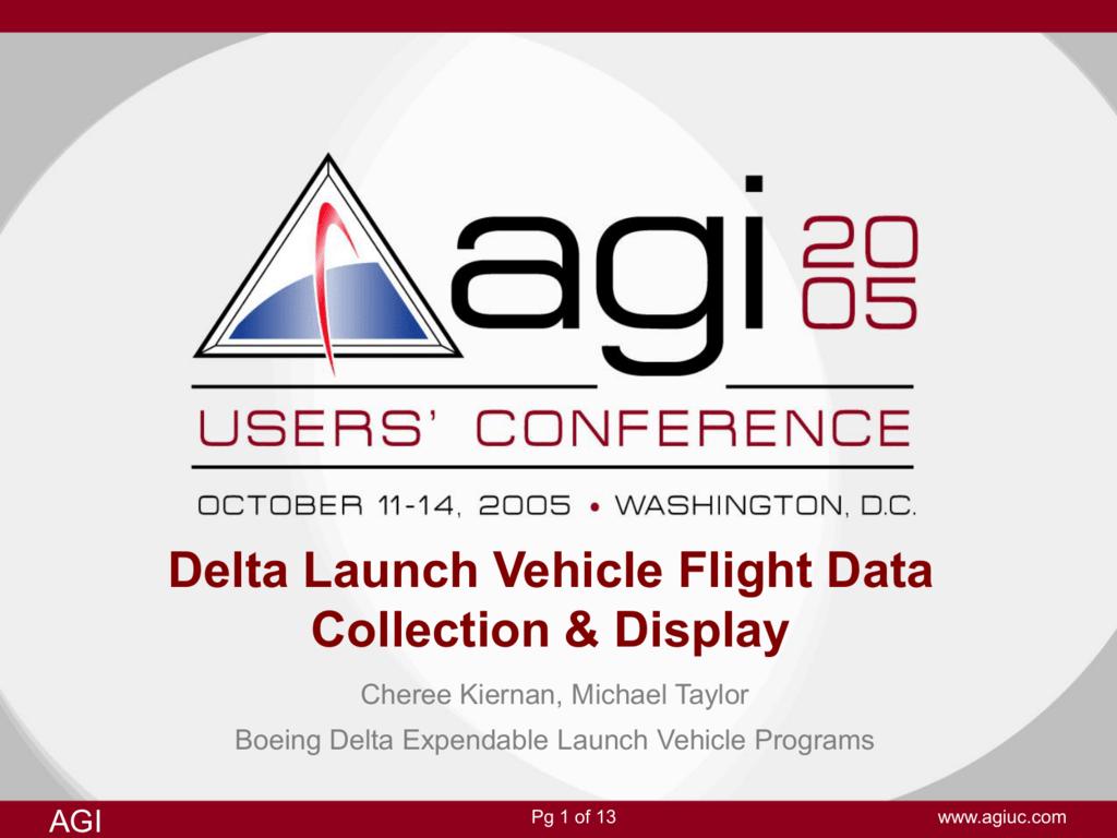 AGI conference presentation