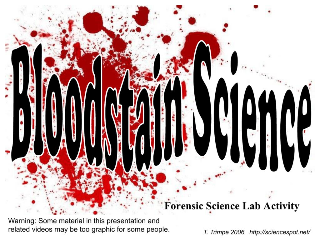 Blood Spatter 1112