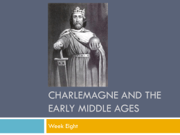 Charlemagne and the early modern ages