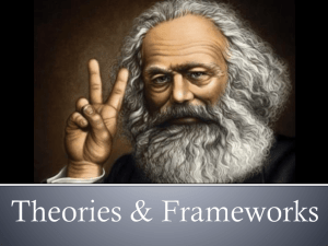 Theories & Frameworks
