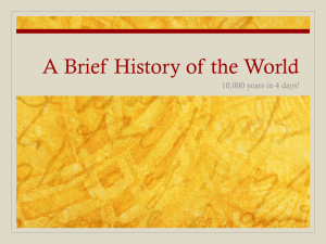 Unit 3 - History of World