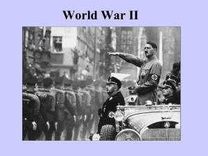 The Causes of World War II