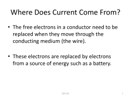 Introduction to Batteries