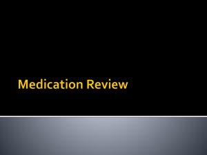 Dosage Calculation Review - Professional Pediatric Home Care