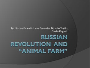 Russian Revolution and *Animal farm