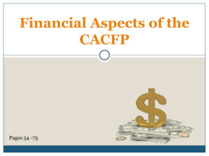 Click Here To 6 Financial Aspects of the CACFP teri