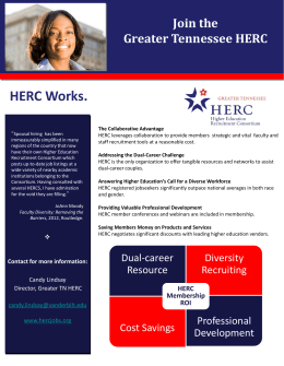 Join the Greater Tennessee HERC