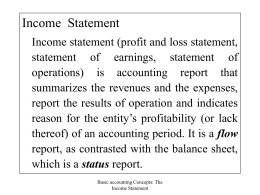 6. The Accounting Period Concept