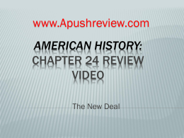 American History chapter 24
