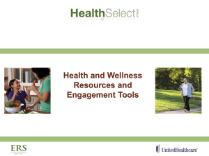 Health and Wellness Resources and Engagement Tools (Gowens).