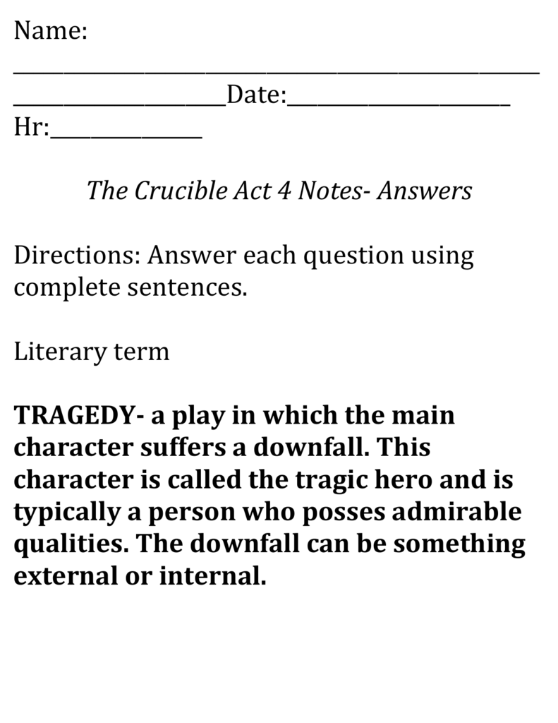 essay test questions for the crucible The crucible essay prompts choose one prompt and write a 2-4 page, academically cited essay cite from the primary text and at least one article (you may use any articles from our course website if you like – or not.