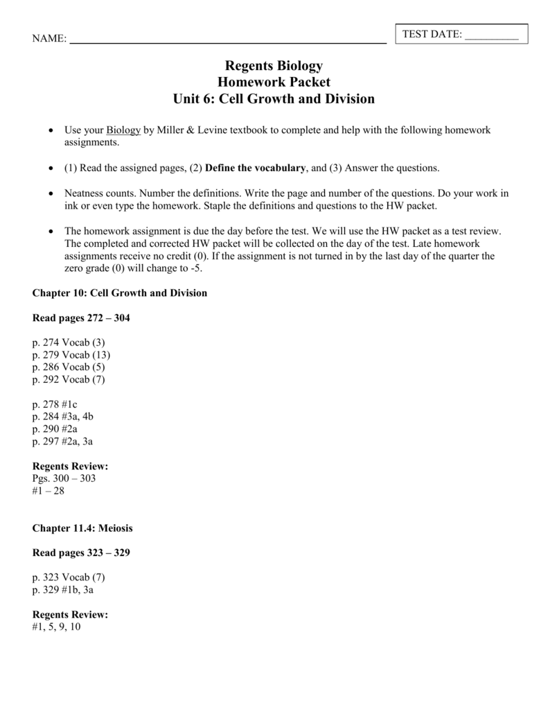 worksheet Cell Growth And Division Worksheet meiosis