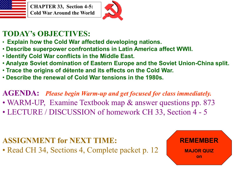 cold war latin america lesson plan