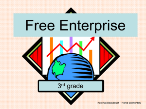 Free Enterprise PowerPoint