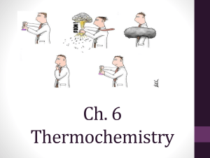 Ch. 6 Thermochemistry - Waukee Community School District Blogs