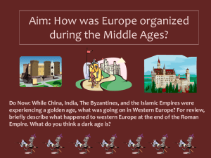 Middle Ages PPT