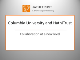 PowerPoint - Columbia University Libraries