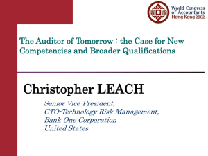 the Case for New Competencies and Broader Qualifications