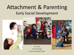 Early Social Development