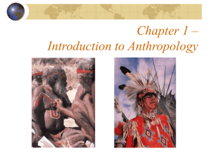 Introduction to Anthropology - Study materials & Discussion related