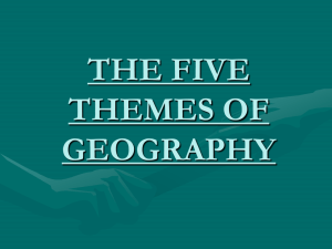 5 Themes of Geography ppt.