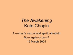 The Awakening Kate Chopin