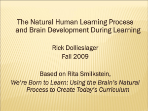 Natural Human Learning Process