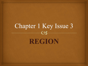 Chapter 1 Key Issue 3