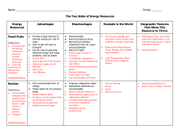 Two Sides to Energy Resources Chart.doc