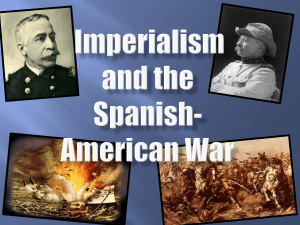 PPT - Imperialism and the Spanish