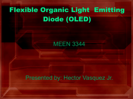 Flexible Organic LED Display