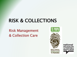 Risk and Collections