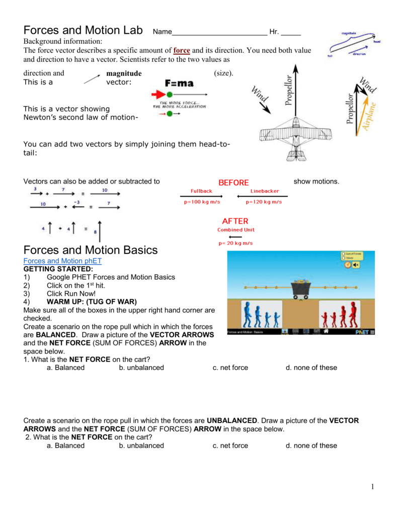 The Moving Man Worksheet Answers