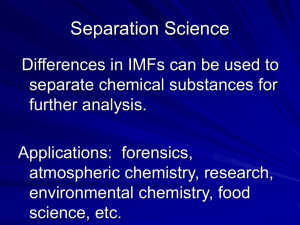 Separation Science