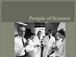 People of Science