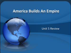 America Builds An Empire Review