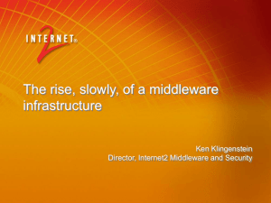 Security: Network and Middleware