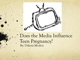 Impact of Media on Teenagers