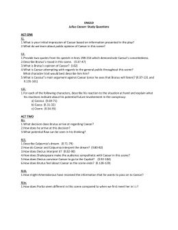 caesar act ii study guide questions Julius caesar study guide questions answers act 1  centurions fdr amp the commanders he led to victory in world war ii joseph e.