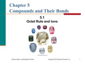 1. Octet Rule and Ions