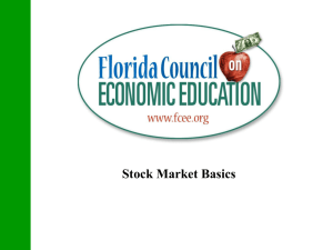 Stock Market Basics - Wikispaces