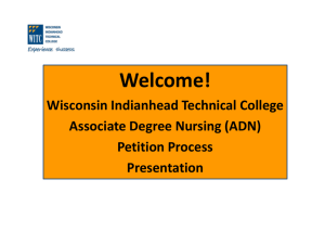 Nursing Petition Process Steps 1 & 2