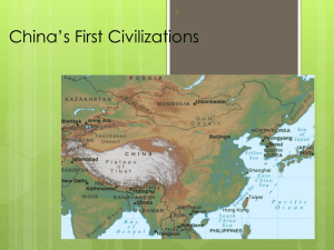 The Zhou dynasty ruled for over 800 years - Hewlett