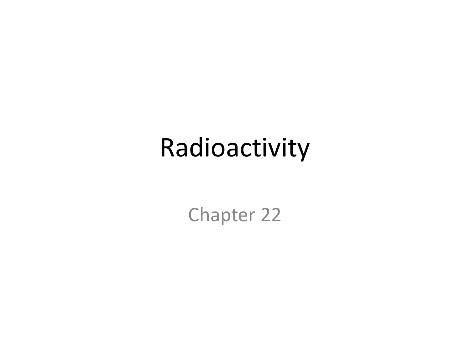 whom discoverd radioactive dating
