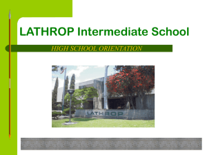 fundamental high schools - Santa Ana Unified School District
