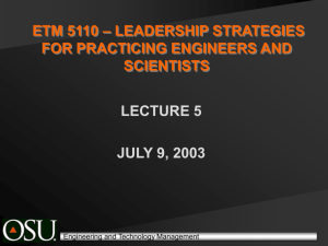 MSETM Program - Oklahoma State University