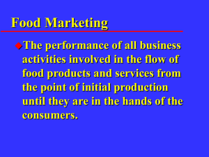 Traditional Marketing Channel
